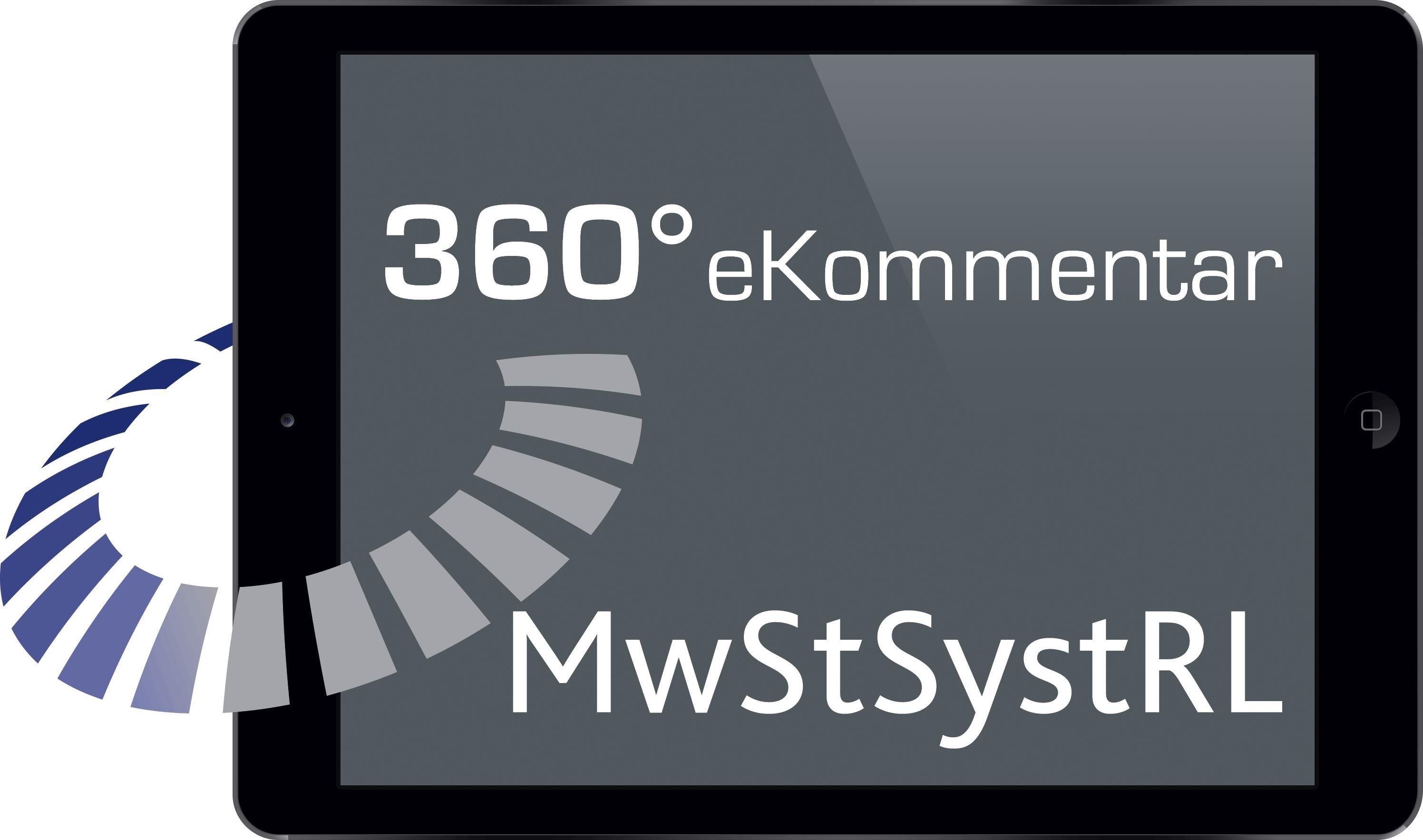 Abbildung von 360° MwStSystRL eKommentar