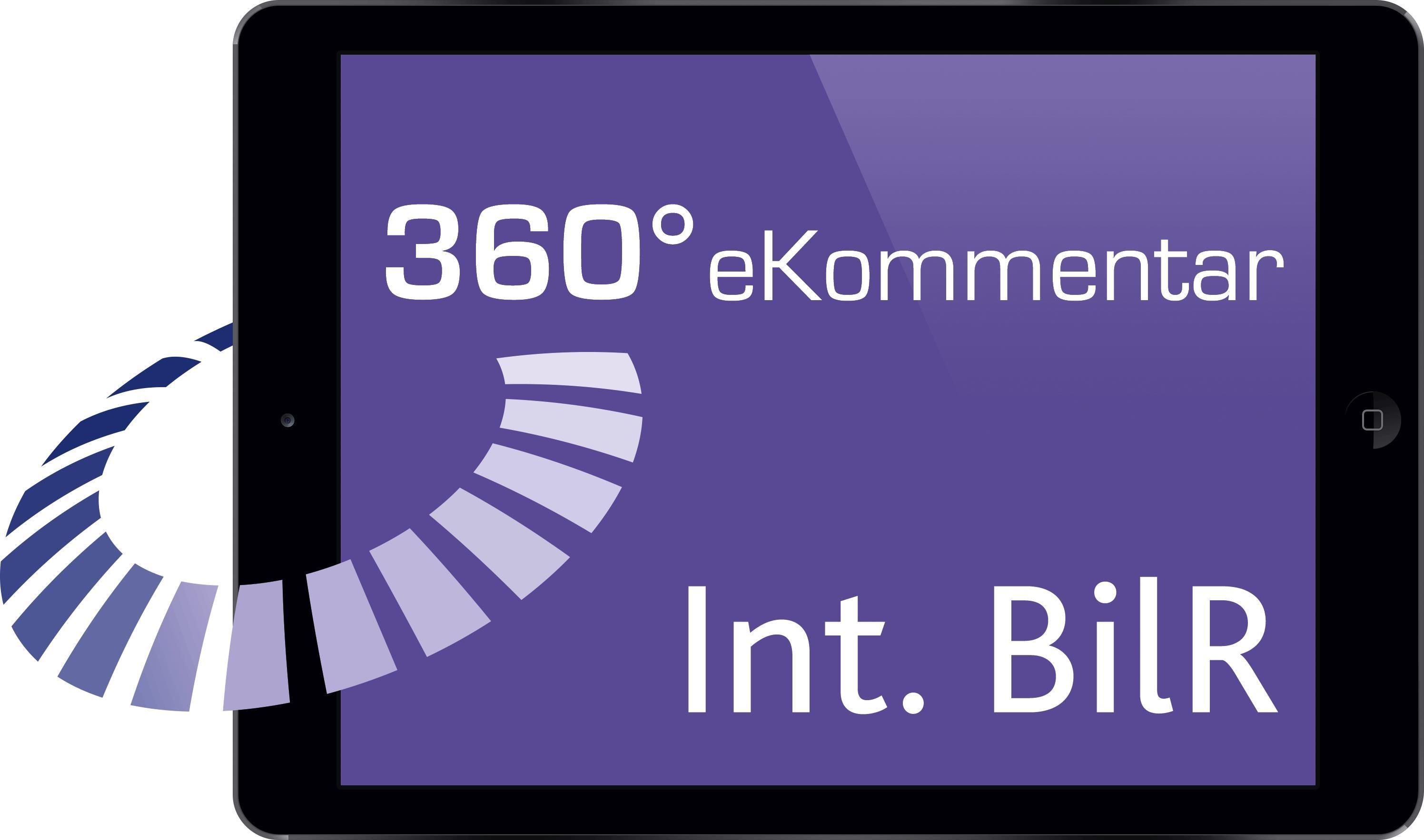 360° Int. BilR eKommentar, 2015 (Cover)