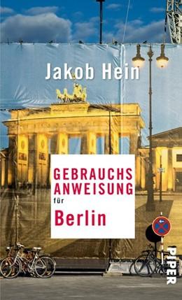 Abbildung von Hein   Gebrauchsanweisung für Berlin   1. Auflage   2015   beck-shop.de