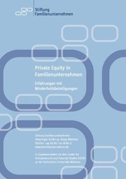 Abbildung von Achleitner / Familienunternehmen / Schraml | Private Equity in Familienunternehmen | 2008 | Erfahrungen mit Minderheitsbet...