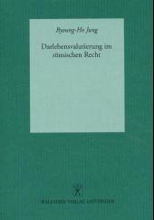Darlehensvalutierung im römischen Recht | Jung, 2002 | Buch (Cover)