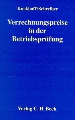 Verrechnungspreise in der Betriebsprüfung | Kuckhoff / Schreiber, 1997 | Buch (Cover)