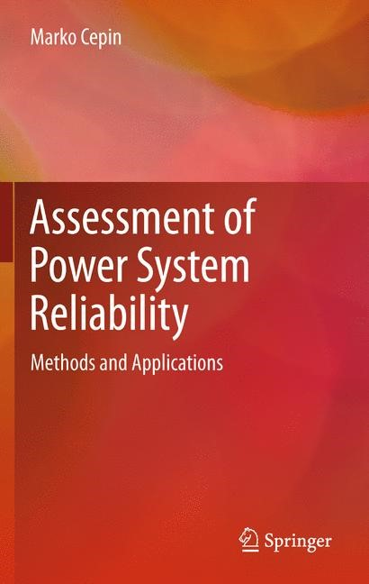 Assessment of Power System Reliability | Cepin | 2011, 2014 | Buch (Cover)