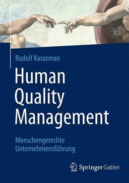 Abbildung von Karazman | Human Quality Management | 2015 | 2015 | Menschengerechte Unternehmensf...