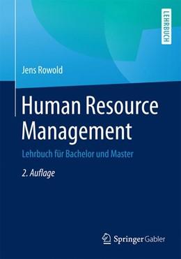 Abbildung von Rowold   Human Resource Management   2. Auflage   2015   beck-shop.de