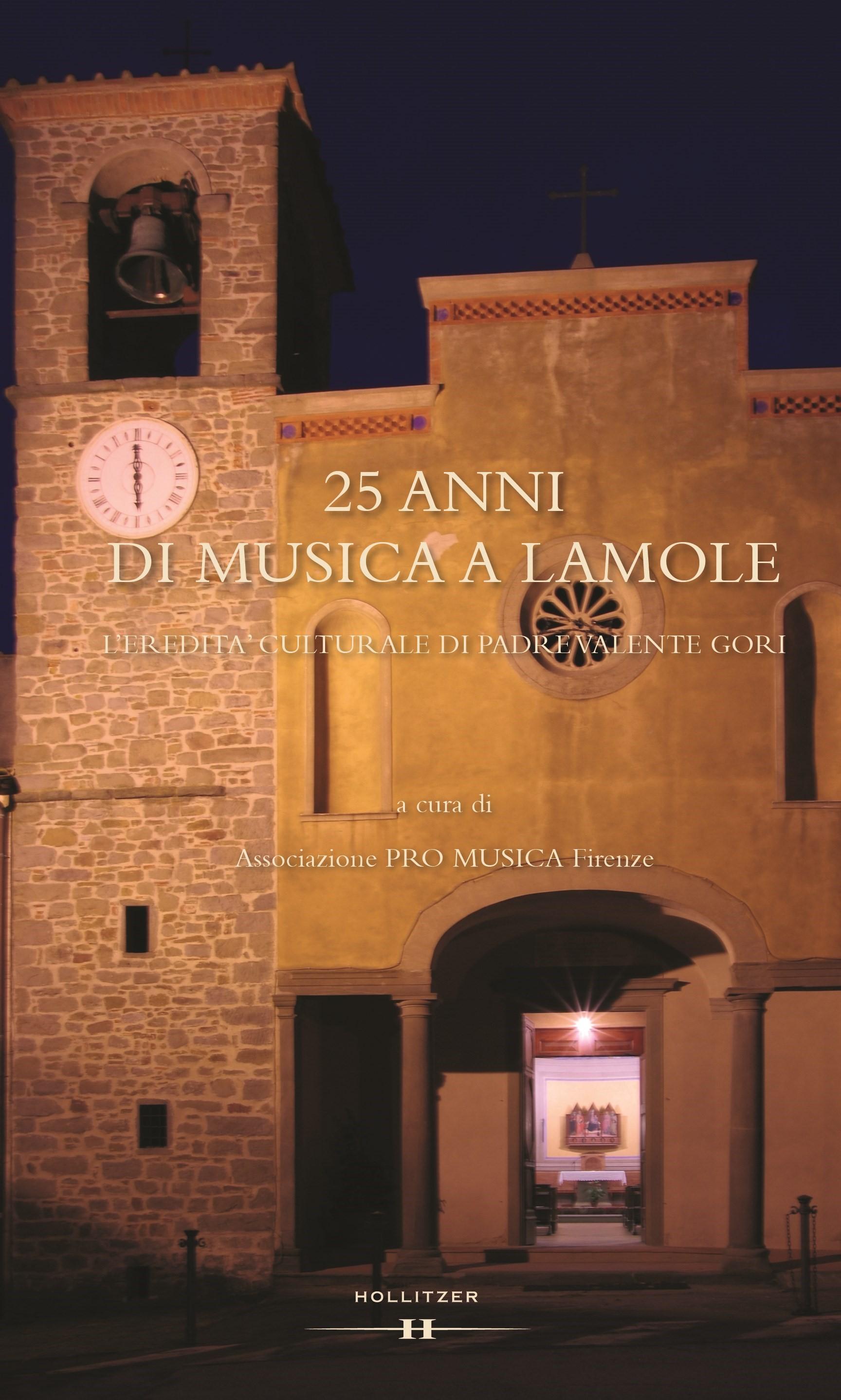 25 anni di musica a Lamole, 2015 | Buch (Cover)