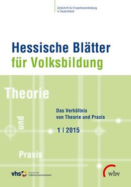 Abbildung von Hessische Blätter für Volksbildung 01/2015 | 2015 | Das Verhältnis von Theorie und...