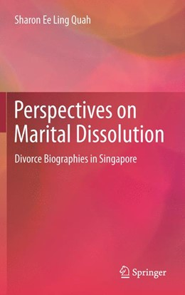 Abbildung von Quah | Perspectives on Marital Dissolution | 1. Auflage | 2015 | beck-shop.de