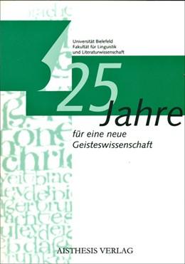 Abbildung von 25 Jahre für eine neue Geisteswissenschaft   1999