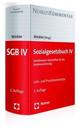 Abbildung von Winkler (Hrsg.) | Sozialgesetzbuch IV | 2. Auflage | 2016 | Gemeinsame Vorschriften für di...