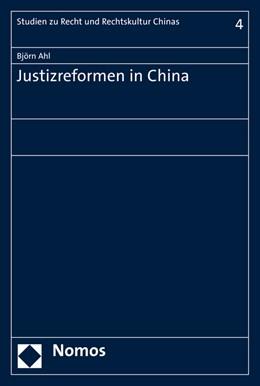 Abbildung von Ahl | Justizreformen in China | 2015