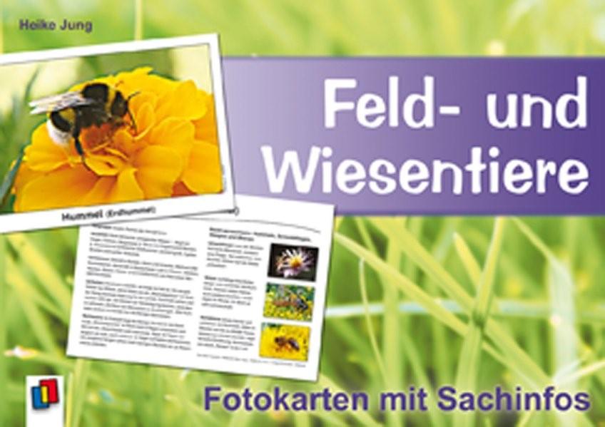Feld- und Wiesentiere - Fotokarten mit Sachinfos | Jung, 2008 (Cover)