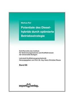 Abbildung von Ruf | Potentiale des Dieselhybrids durch optimierte Betriebsstrategie | 1. Auflage | 2013 | beck-shop.de