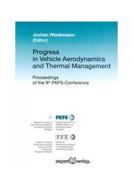 Abbildung von Wiedemann | Progress in Vehicle Aerodynamics and Thermal Management | 2013 | Proceedings of the 9th FKFS-Co...