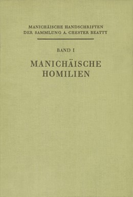 Abbildung von Polotsky | Manichäische Handschriften der Sammlung A. Chester Beatty | 1950 | I. Band: Manichäische Homilien