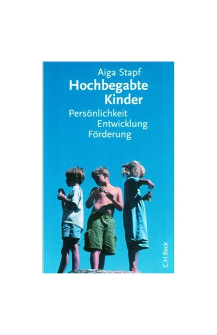 Cover: Aiga Stapf, Hochbegabte Kinder