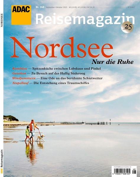 ADAC Reisemagazin Nordsee, 2015 | Buch (Cover)