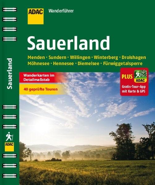 ADAC Wanderführer Sauerland plus Gratis Tour App, 2015 | Buch (Cover)