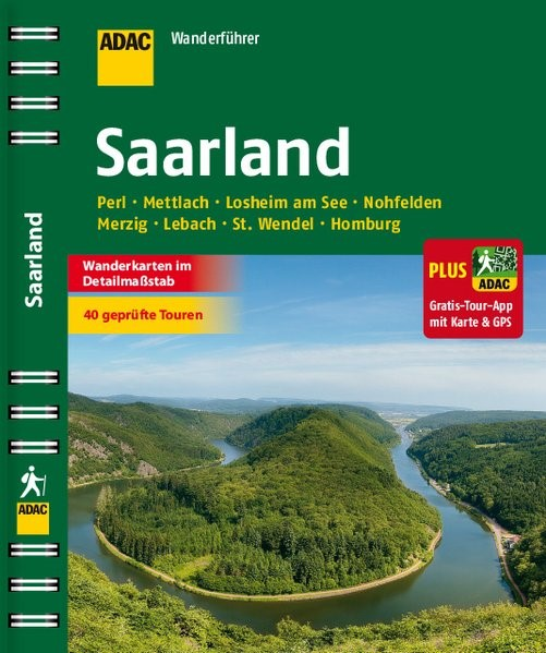 ADAC Wanderführer Saarland plus Gratis Tour App, 2015 | Buch (Cover)