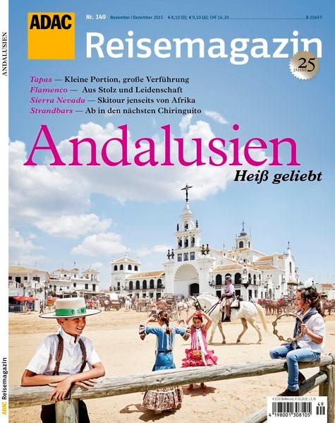 ADAC Reisemagazin Andalusien, 2015 | Buch (Cover)