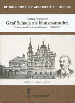 Abbildung von Pophanken | Graf Schack als Kunstsammler | 1995 | Private Kunstförderung in Münc...