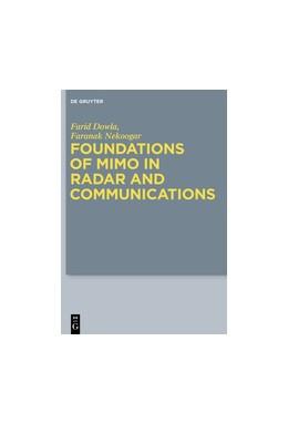 Abbildung von Dowla / Nekoogar | Foundations of MIMO in Radar and Communications | 2025