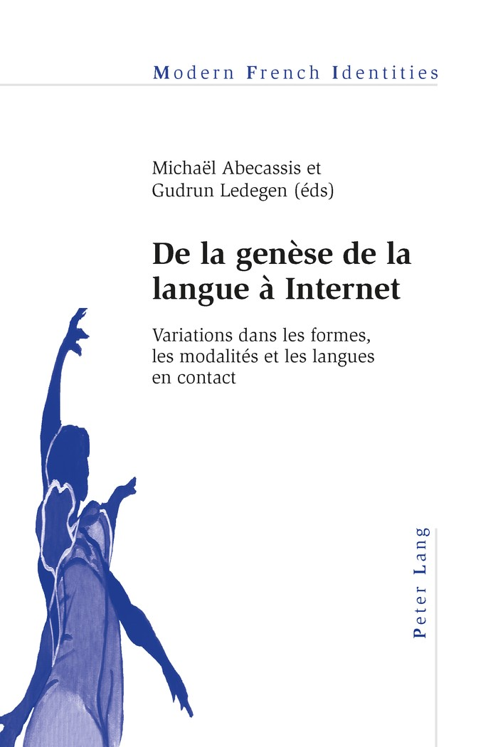 Abbildung von Abecassis / Ledegen | De la genèse de la langue à Internet | 2015