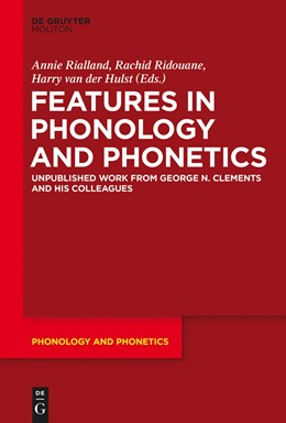 Abbildung von Rialland / Ridouane / Hulst | Features in Phonology and Phonetics | 2015 | Posthumous Writings by Nick Cl... | 21