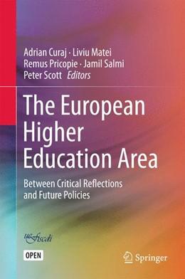 Abbildung von Curaj / Matei | The European Higher Education Area | 1. Auflage | 2015 | beck-shop.de