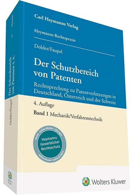 Abbildung von Dolder / Faupel | Der Schutzbereich von Patenten | 4. Auflage | 2019