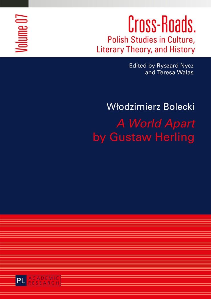 «A World Apart» by Gustaw Herling   Bolecki, 2015   Buch (Cover)