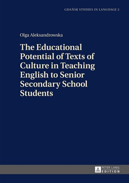 Abbildung von Aleksandrowska | The Educational Potential of Texts of Culture in Teaching English to Senior Secondary School Students | 2015 | 2