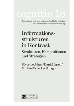 Abbildung von Adam / Jacob | Informationsstrukturen in Kontrast | 1. Auflage | 2015 | 18 | beck-shop.de