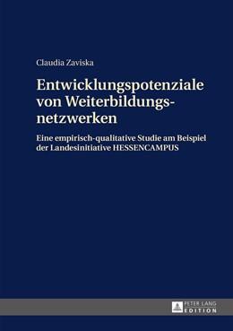 Abbildung von Zaviska | Entwicklungspotenziale von Weiterbildungsnetzwerken | 2015 | Eine empirisch-qualitative Stu...