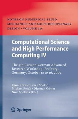 Abbildung von Krause / Shokin / Resch / Kröner / Shokina | Computational Science and High Performance Computing IV | 2011 | 2014 | The 4th Russian-German Advance... | 115