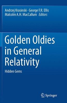 Abbildung von Krasinski / Ellis / MacCallum | Golden Oldies in General Relativity | 2013 | 2015 | Hidden Gems