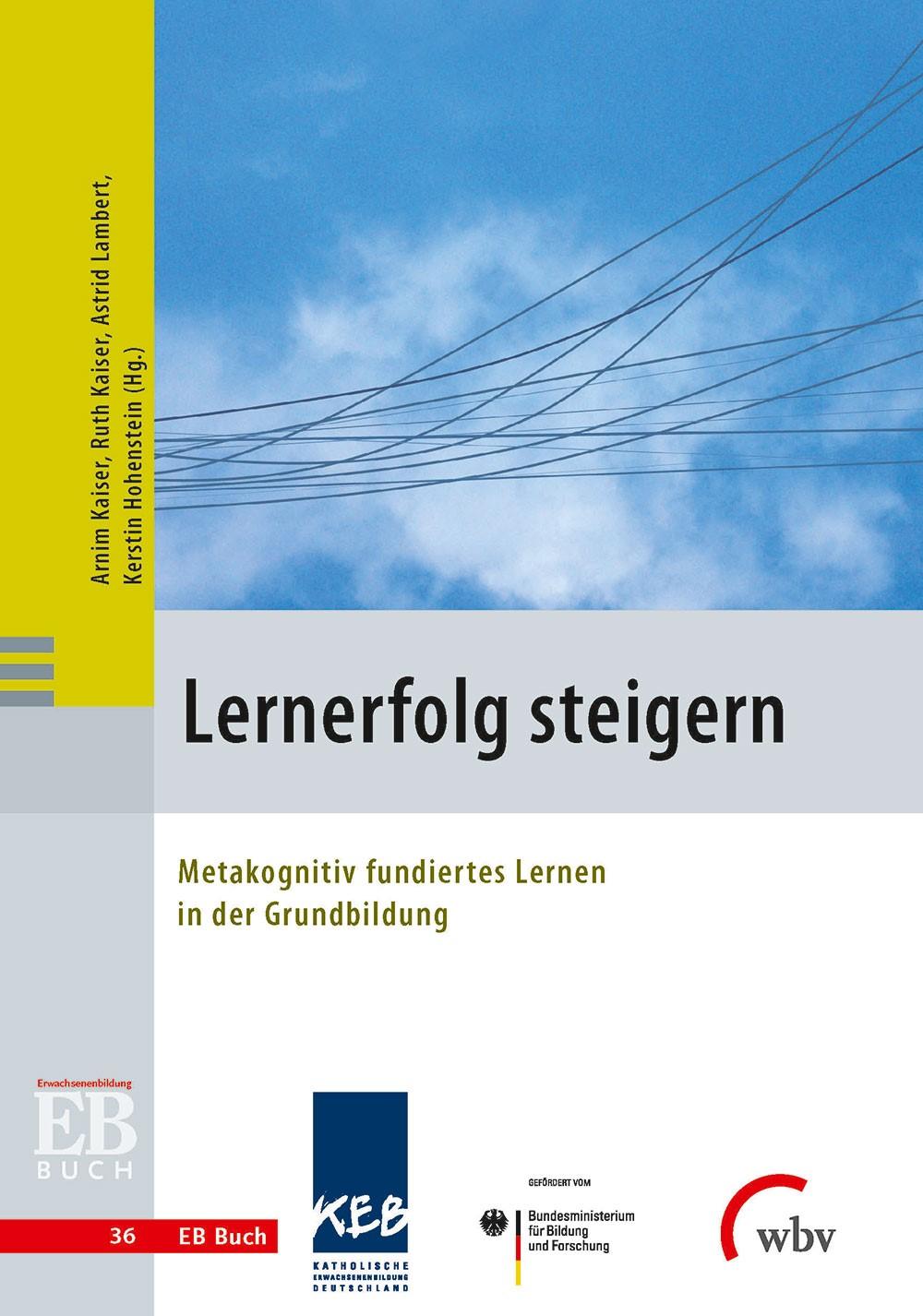 Lernerfolg steigern | Kaiser / Lambert / Hohenstein, 2015 | Buch (Cover)