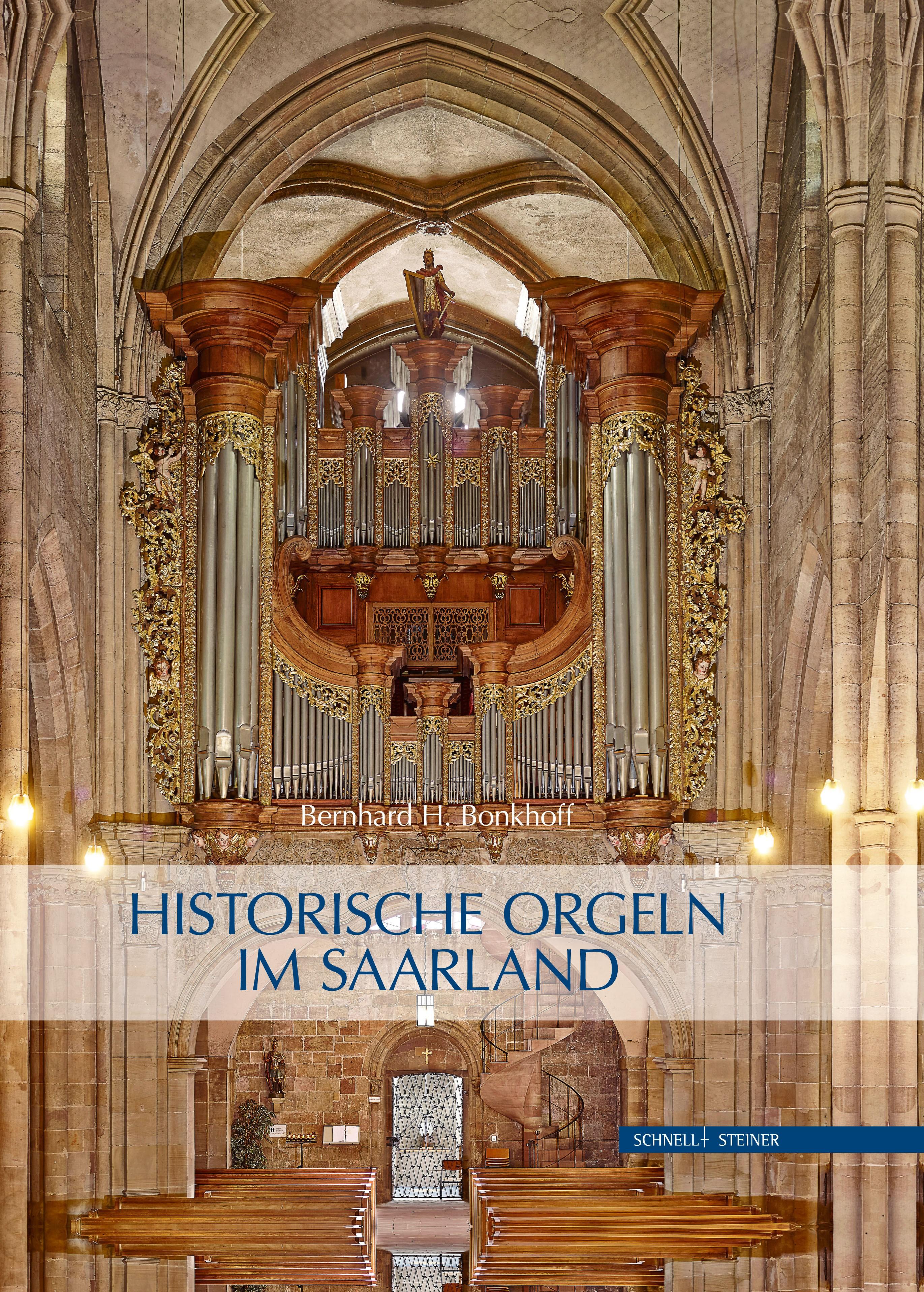 Abbildung von Bonkhoff | Historische Orgeln im Saarland | 2015