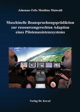 Abbildung von Maiwald | Maschinelle Beanspruchungsprädiktion zur ressourcengerechten Adaption eines Pilotenassistenzsystems | 1. Auflage | 2015 | 23 | beck-shop.de