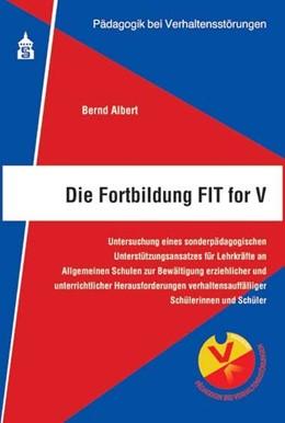 Abbildung von Albert | Die Fortbildung FIT for V | 2015 | Untersuchung eines sonderpädag... | 2