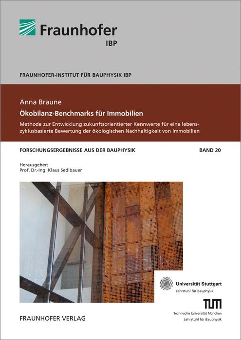 Abbildung von / Sedlbauer / Eyerer | Ökobilanz-Benchmarks für Immobilien. | 2015