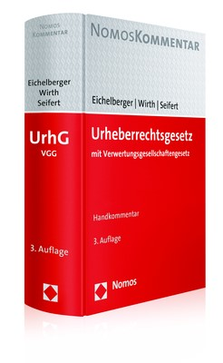 Urheberrechtsgesetz: UrhG | Eichelberger / Wirth / Seifert | 3. Auflage, 2019 | Buch (Cover)