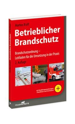 Abbildung von Kraft | Betrieblicher Brandschutz | 2015 | Brandschutzordnung - Leitfaden...