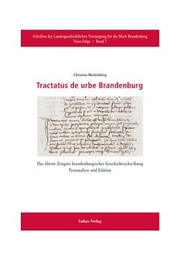 Abbildung von Meckelnborg | Tractatus de urbe Brandenburg | 2015 | Das älteste Zeugnis brandenbur...