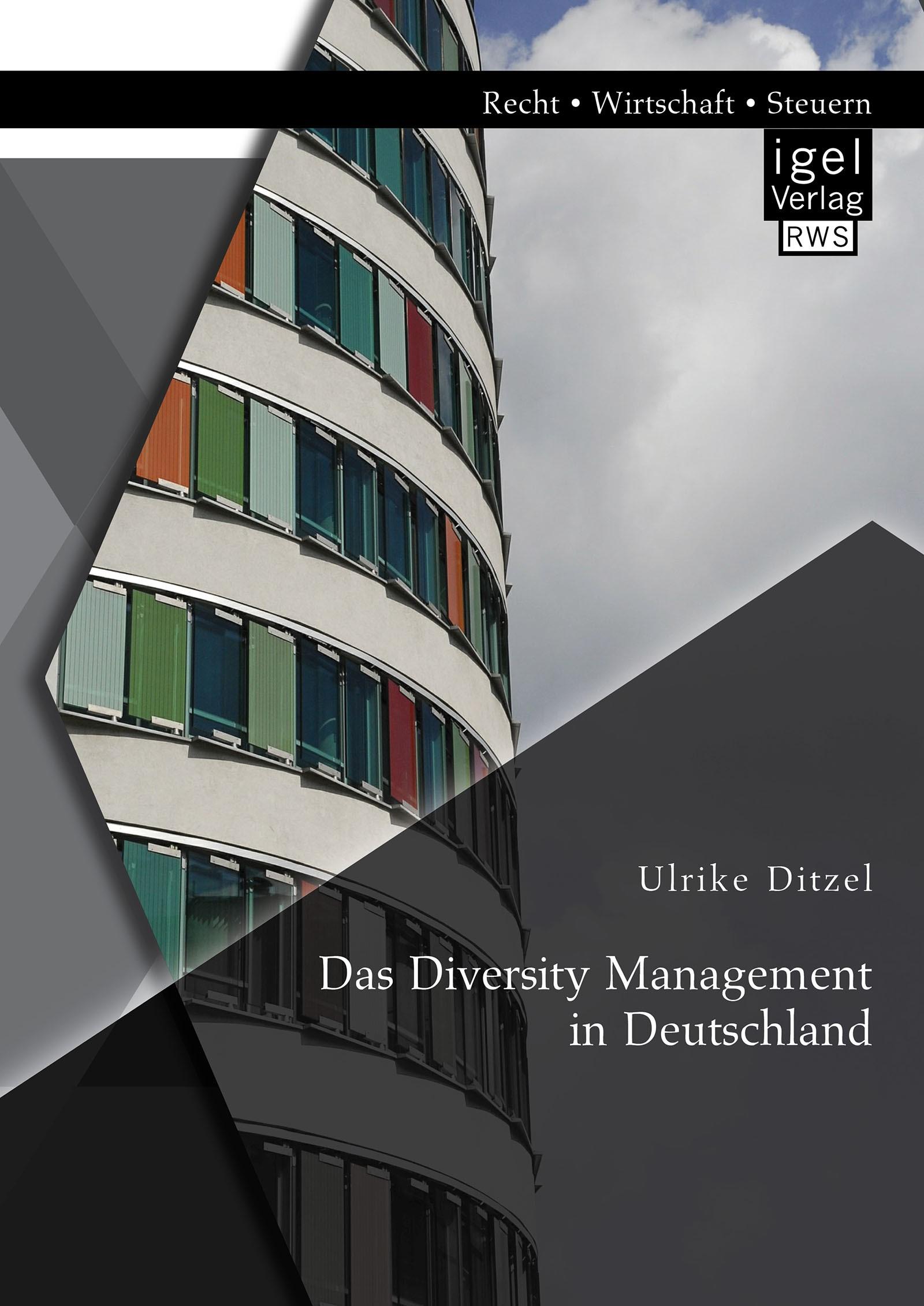 Abbildung von Ditzel | Das Diversity Management in Deutschland | 2015