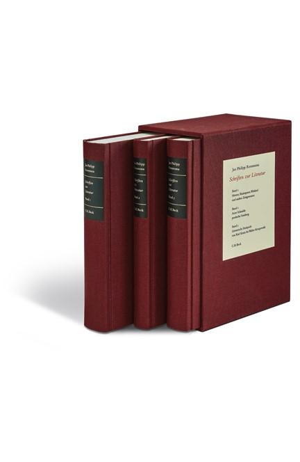 Cover: Jan Philipp Reemtsma, Schriften zur Literatur Gesamtwerk