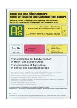 Abbildung von / Knappe / Ratcina | Atlas Ost- und Südosteuropa | 2004 | Bd. 3.5-G8: Transformation der...