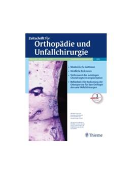 Abbildung von Zeitschrift für Orthopädie und Unfallchirurgie   158. Jahrgang   2020