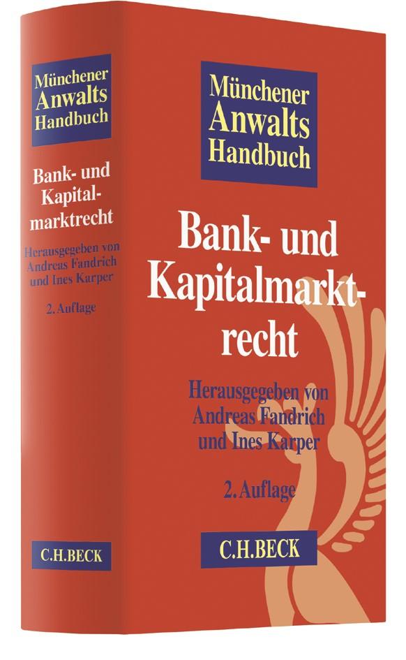 Münchener Anwaltshandbuch Bank- und Kapitalmarktrecht | 2. Auflage, 2018 | Buch (Cover)