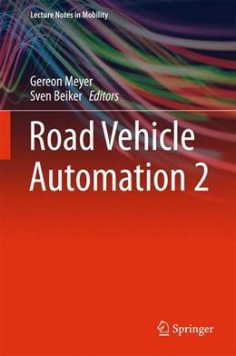 Abbildung von Meyer / Beiker   Road Vehicle Automation 2   2015   2015